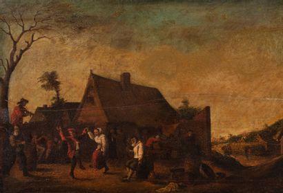 Ecole HOLLANDAISE dans le goût du XVIIème...
