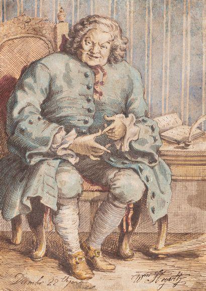 Ecole ANGLAISE de la fin du XVIIIème siècle,