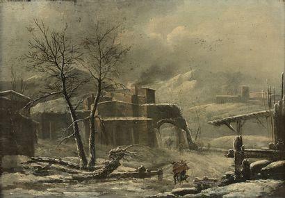 Attribué à Cesar Denis Van LOO (1743 - 1821)...