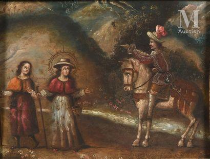 Ecole ESPAGNOLE du XVIIème siècle