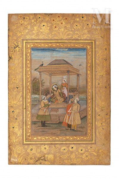Jahangir et Qutb ad-Din Khan Koka à Lahore
