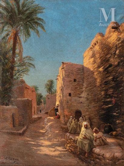ANTOINE GADAN (Seurre 1854 - Bône 1934)