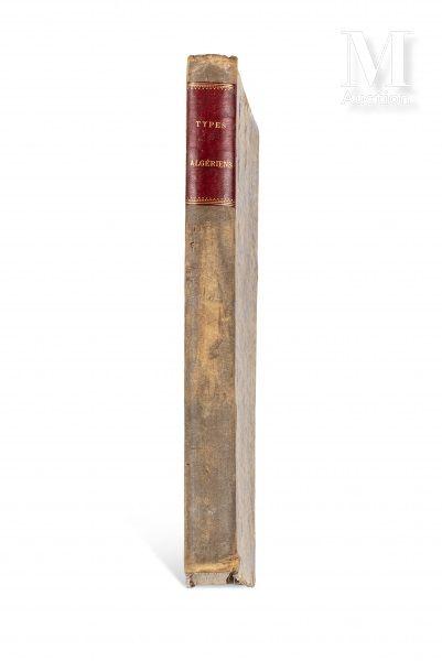 GRANDMAISON (Henri de) Types algériens. sl, sn, sd (c. 1880)  Recueil de 71 lithographies...