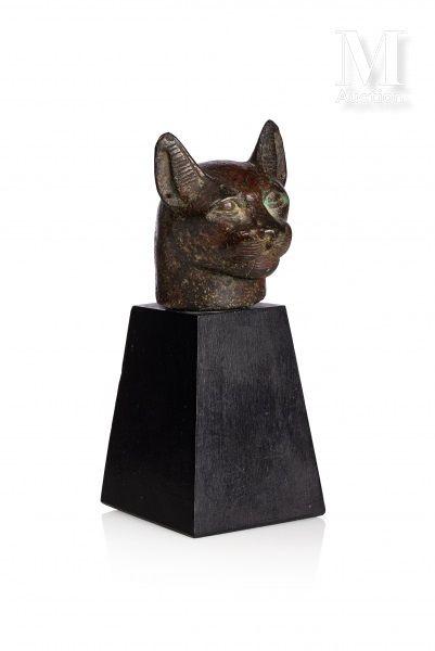 Tête de chatte Bastète