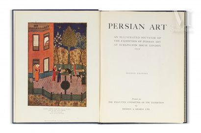 [Art persan]. Persian Art. An illustrated souvenir of the exhibition of Persian art at Burlington House, London, 1931.