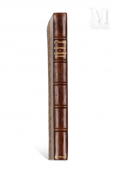 VERNIER (Émile) La Bijouterie et la Joaillerie égyptiennes  sl, Imprimerie de l'Institut...