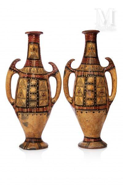 Paire d'amphores kabyles