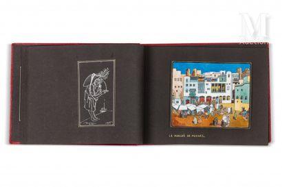 KIRBY (John) Album de peintures. sl, , 1958  Bel album d'un journal de voyage au...