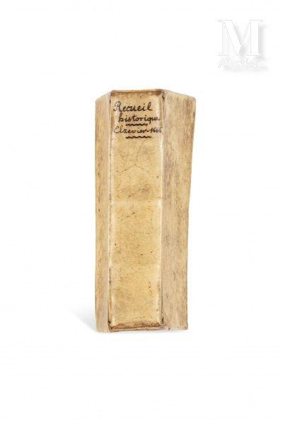 EMPIRE OTTOMAN Recueil historique contenant diverses pièces curieuses de ce temps....