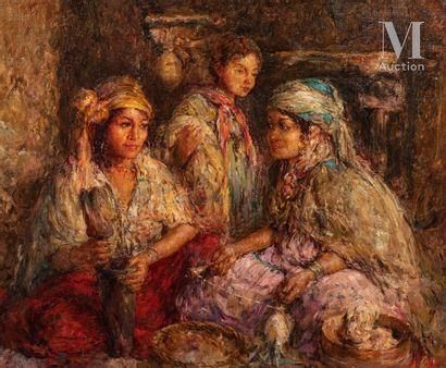 Edouard VERSCHAFFELT (Gand 1874 - Bou Saâda 1955)