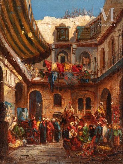 Louis Amable CRAPELET (Auxerre 1822 - Marseille 1867)