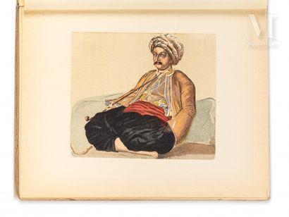 MARÇAIS (Georges) Le Costume musulman d'Alger. Paris, Plon, 1930.  In-4 broché, couv....