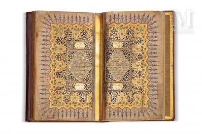 Coran ottoman copié par Omar al-Zuhdi