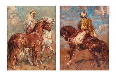 Henri ROUSSEAU (Le Caire 1875 - Aix en Provence 1933)