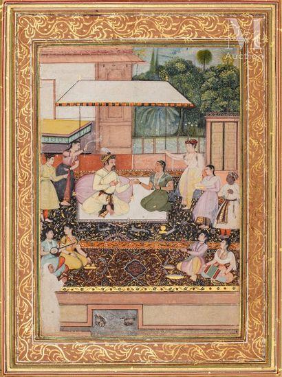 Portrait présumé du Prince moghol Daniyal Mirza (1572-1605)