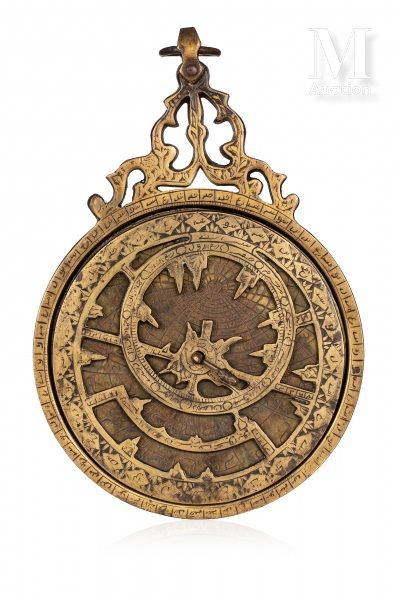 Astrolabe planisphérique indo-persan