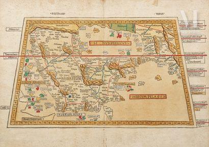 Carte de la Péninsule arabique