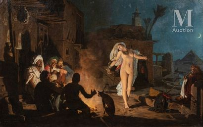 Attribué à Jean-Jules-Antoine LECOMTE de NOUY (1842 - 1923)