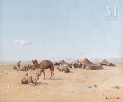 Paul LAZERGES (Paris 1845 - Asnières 1902)