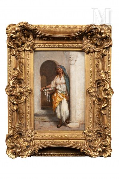 Hippolyte LAZERGES (Narbonne 1817-Mustapha 1887)