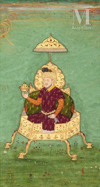 Timur trônant