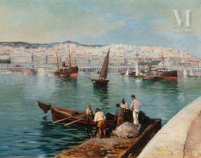 Maxime NOIRE  (Guinglange 1861- Alger 1927)