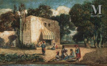 Narcisse Virgile DIAZ DE LA PENA (Bordeaux 1807-Menton 1876)