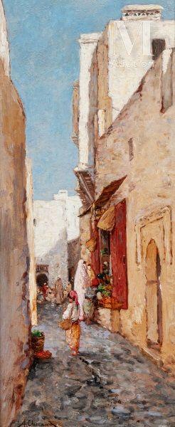 ALFRED CHATAUD (MARSEILLE 1833 - ALGER 1908)