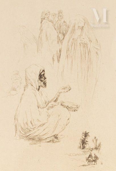 LE RICHE (Henri). Maroc, 1932-1933  Carnet de voyage illustré de trente gravures...