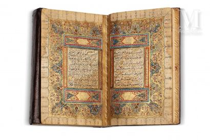 Coran ottoman signé Mustafa Husari