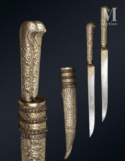 Paire de couteaux ottoman