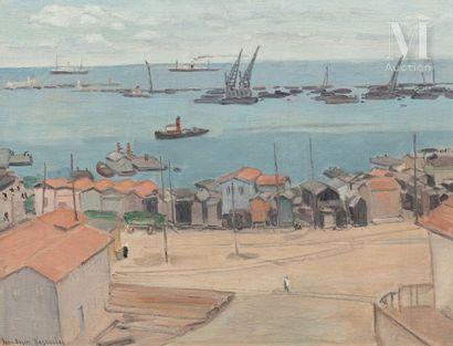 Jean Desiré BASCOULES (Perpignan 1886-Montpellier 1976)