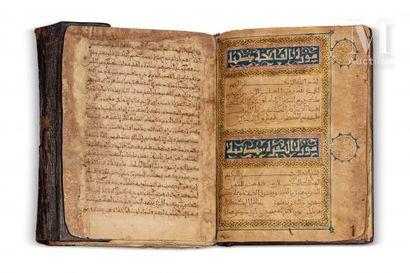 Coran copié par Ahmad b. Mûsa b. 'Isâ b. Ahmad b. 'Ali al-Sharîf al-Husnî al-Washrashî