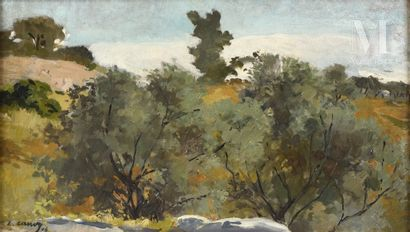 Leon CAUVY (Montpellier 1874-Alger 1933)