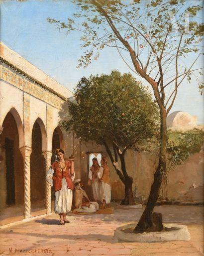 Numa MARZOCCHI de BELLUCCI (Paris 1846 - Jaunay -Clan 1930)