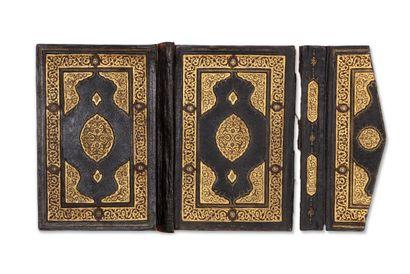 Belle reliure de Coran d'époque ottomane