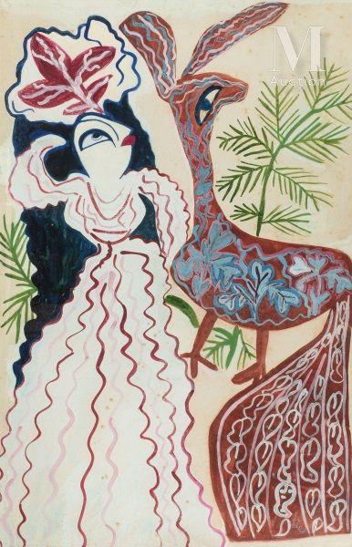 BAYA Fatma  (Bordj el Kiffan 1931- Blida 1998)