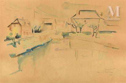 Georges CYR (Montgeron 1880 - Beyrouth 1964)