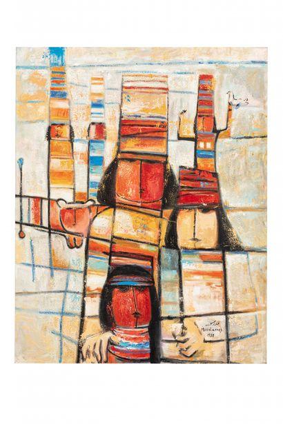 Fateh MOUDARESS (Alep 1922 - 1999)