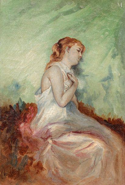 Charles CHAPLIN (Les Andelys 1825- Paris 1891)