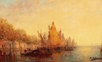 Charles Clément CALDERON (Paris 1870 - 1906)
