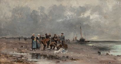 Fernand LUTSCHER (Angers 1850 - 1923)