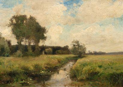Attibué à Stanislas Victor LEPINE (1835 - 1892)