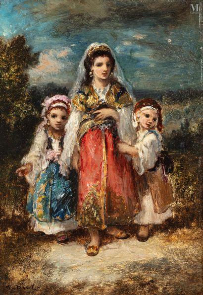 Narcisse DIAZ de la  PENA  (1807-1876)