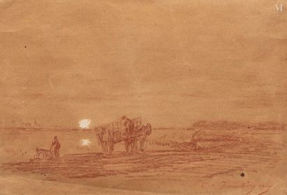 Charles François DAUBIGNY (Paris 1817 - Auvers sur Oise 1878)