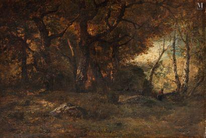Attribué à Narcisse DIAZ de la  PENA (1807-1876)