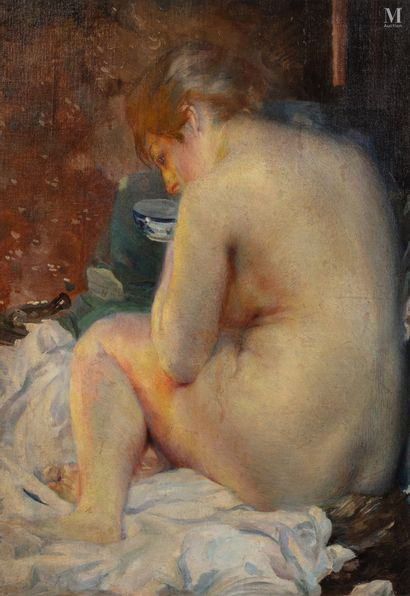 Albert BESNARD (Paris 1849-1934)