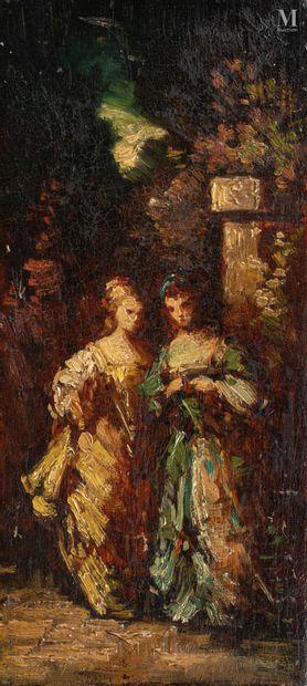 Attribué à Adolphe MONTICELLI (Marseille 1824 - 1886)