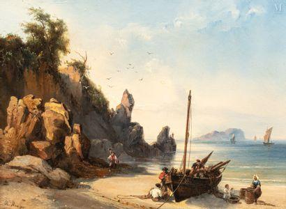 Auguste Etienne François MAYER (Brest 1805-1890)