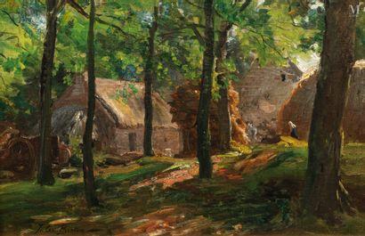 Jules BRETON (Courrières 1827- Paris 1906)
